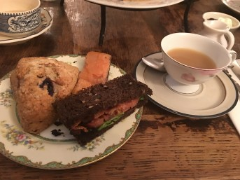 Afternoon Tea and scones - Alice's Teacup