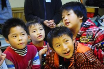 Boys! Photo courtesy 鄭又