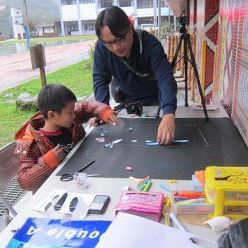 Teacher Ripper Tsou and 周敬凱