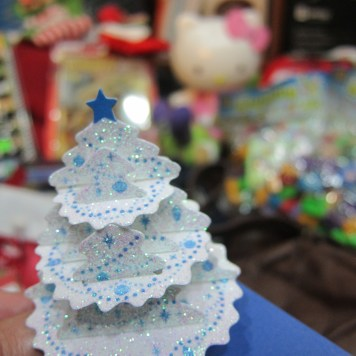 A few 3D Christmas cards for the kids