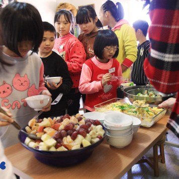 Kids and lunch