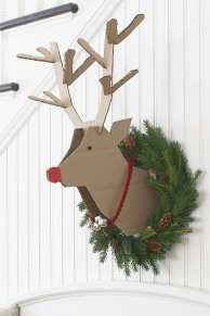 reindeer-wreath