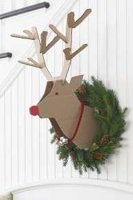 reindeer-wreath