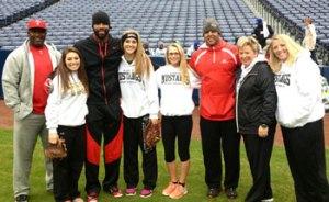 KMHS Softball team at Turner Field