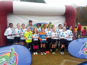 Marvels U12 Soccer Team