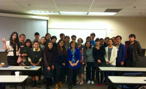 Korean ESL students at Kennesaw State CCPE