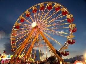 Carnival Rides and Food Vendors,