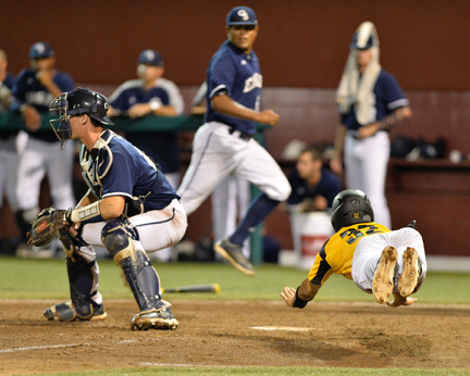 Reaching for the plate