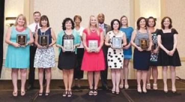 2014 MCS Teachers of the year.