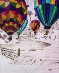 """Mike Denier, Artist - """"Into Wonderland"""""""