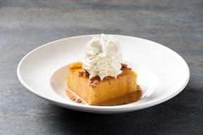 carrabbas pumpkin bread pudding1