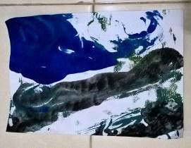 Karya Tekan Kertas di palet Raida_2y
