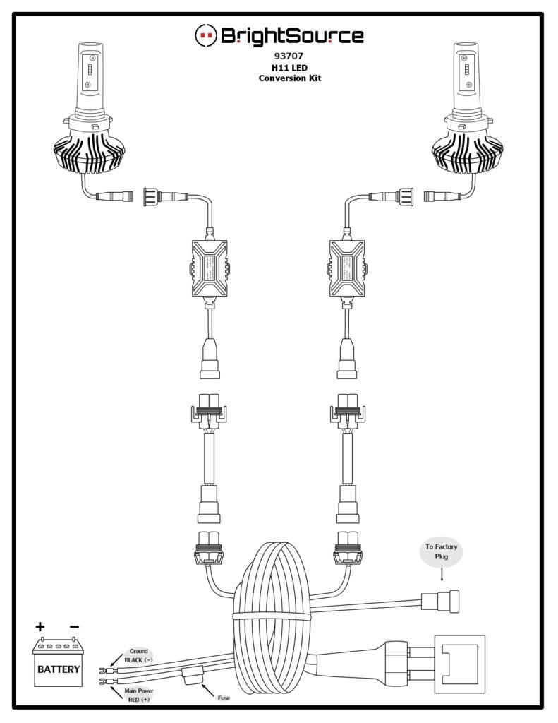 #93707 H11- Low Beam Multi