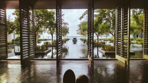 Arrival view in Nizuc Lobby