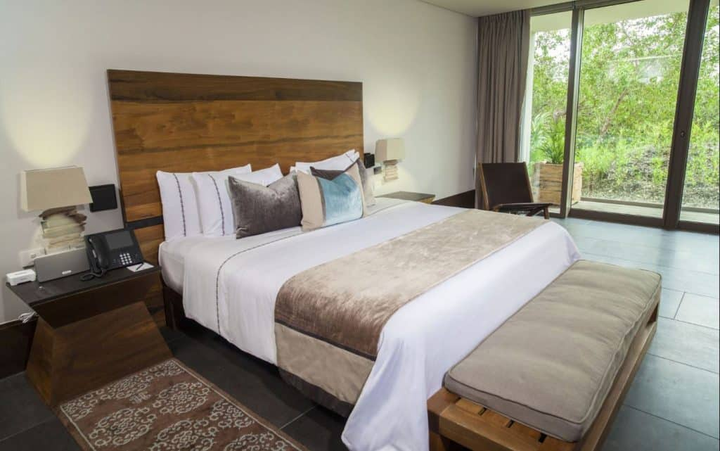 The beautiful bedrooms are just one part of what makes Nizuc a lovely Incentive Travel Cancun Resort