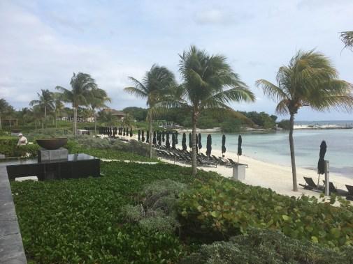 Resort view of beach at Nizuc