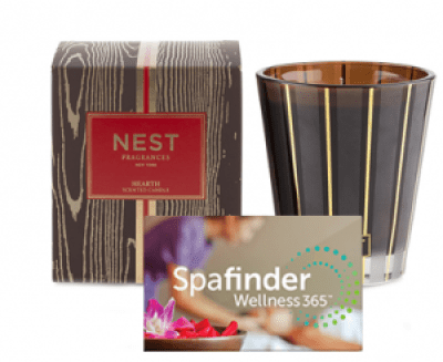 Spa experiential gift card package