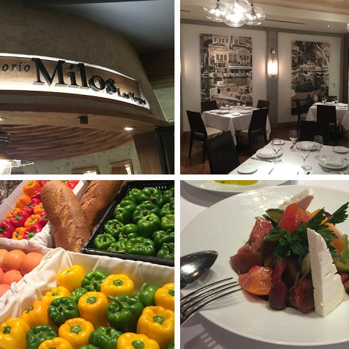 Corporate Events in Vegas never tasted so good at Milos on the Lipsmacking Foodie Tour