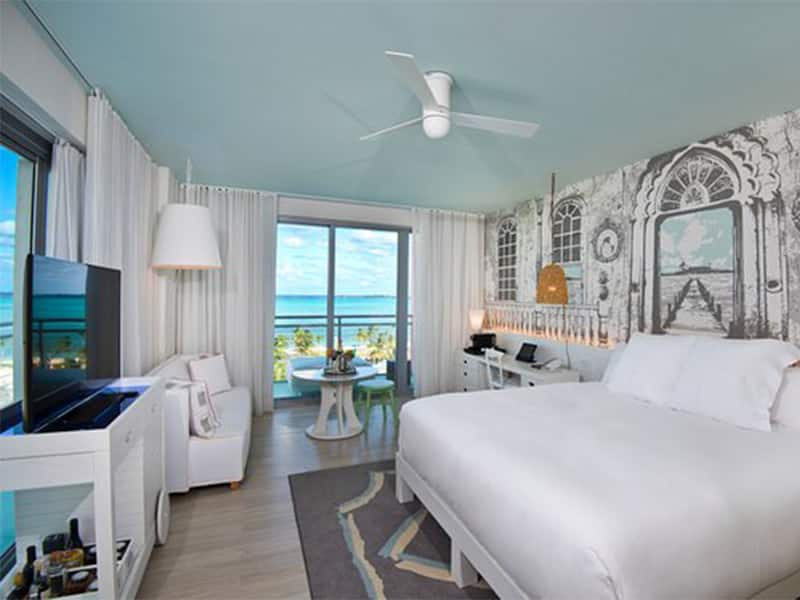 luxury incentive trip hotel SLS baha mar