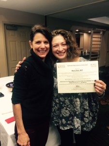 Masha Katz of Bright STAR & Amy Sbihli, C2 Certification Instructor.