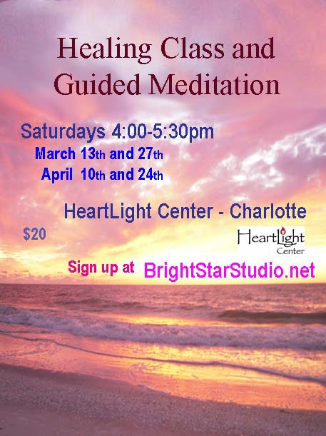 Healing Class and Guided Meditation