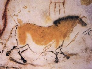 Cave Drawing of a Horse