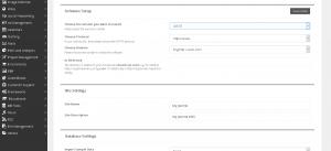 Softaculous Joomla Installation Screen