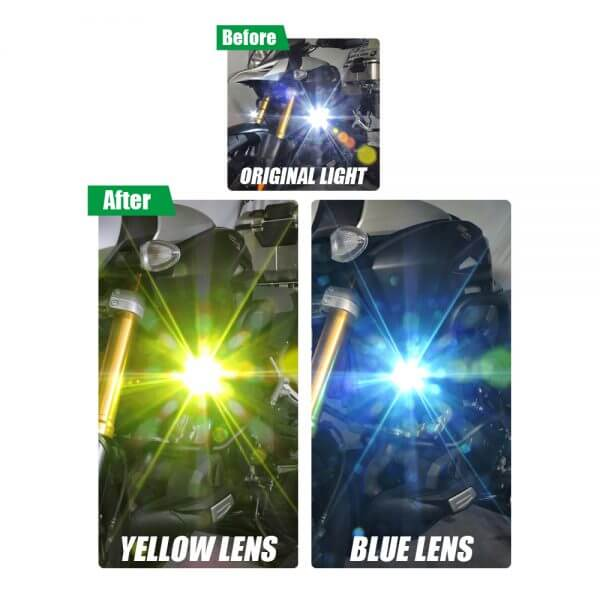 slip-on cover for motorcycle led bulb custom lighting for motorcycles