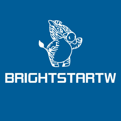 BRIGHTSTAR LOGO of motorcycle led driving light