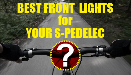 How To Select Best Electric Bike Front Light for S-Pedelecs