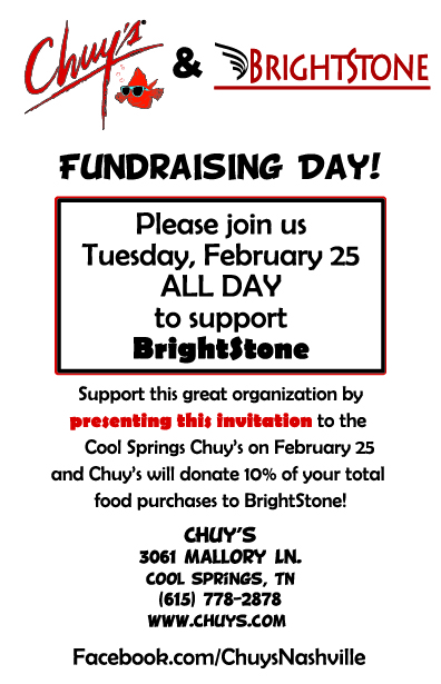 BrightStone Fundraiser Flyer - Color