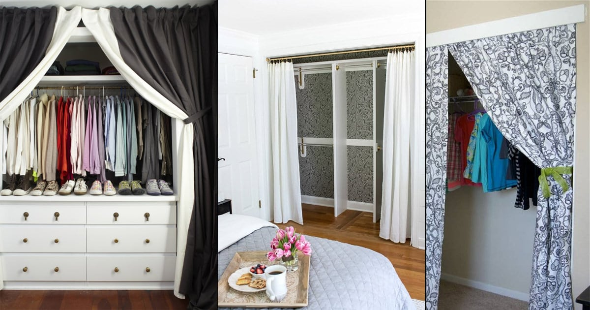 10 closet curtain ideas to renovate
