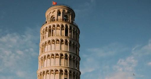 C++ STL Algorithms Leaning Tower of Pisa