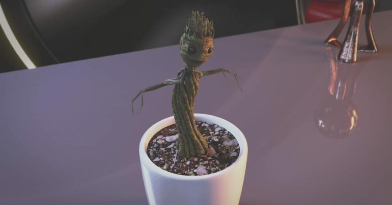 """An Adorable Baby """"I am groot"""" Guardians of the Galaxy Meme ..."""