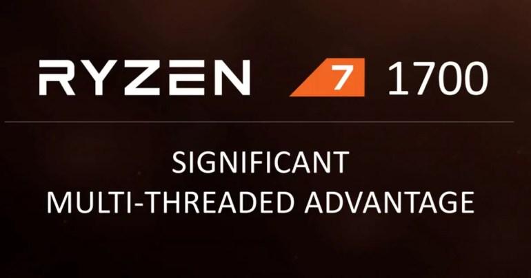 Ryzen 7 Announced
