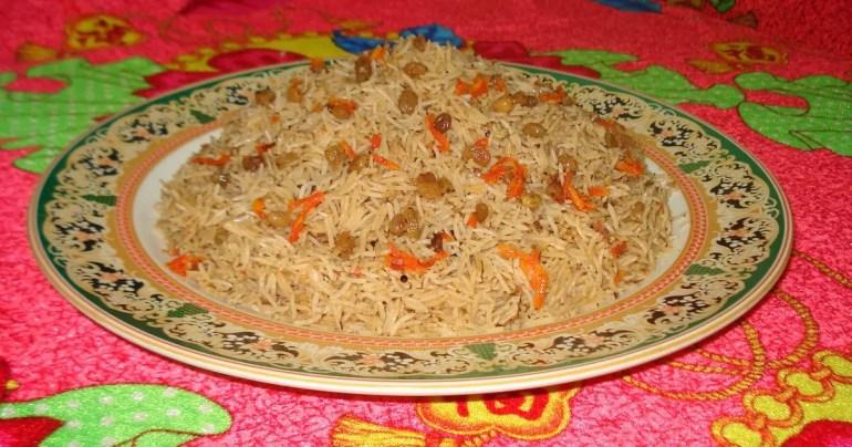 afghanistan pulao rice