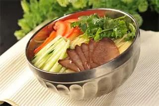 cilantro korean noodles