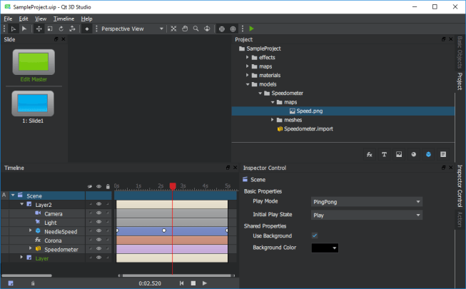 Qt 3D Studio 1 0 Runtime and Editor now Available for Download