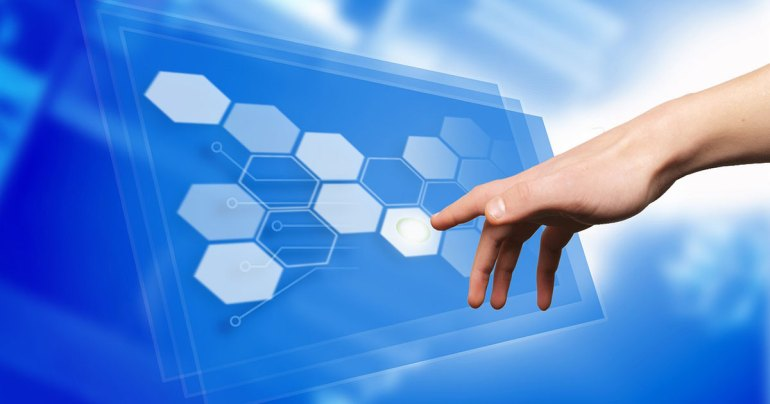 hand user interface