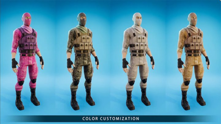 Stylized Modular Character February 2021 Free Content
