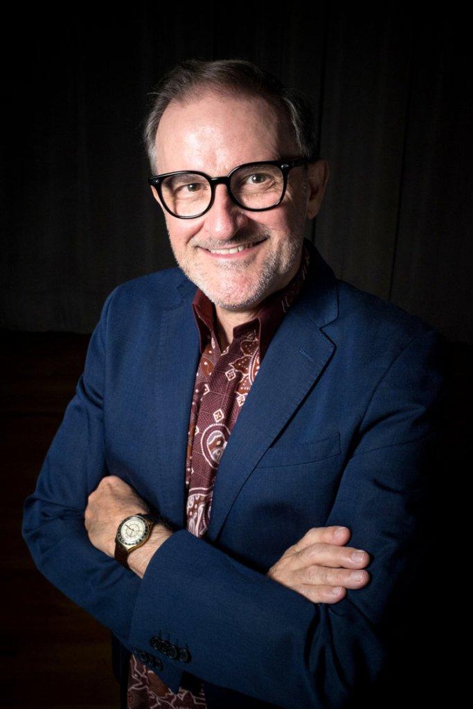 Portrait of David Rosenboom 8-31-2016