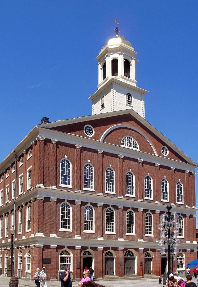Fanueil Hall in Boston, MA