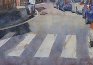 on the road in Amalfi 38*56