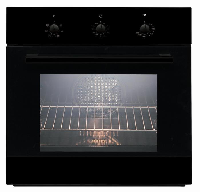 Forno da Incasso Ventilato classe A, nero, Ignis, AKS185NB | Brigo Casa