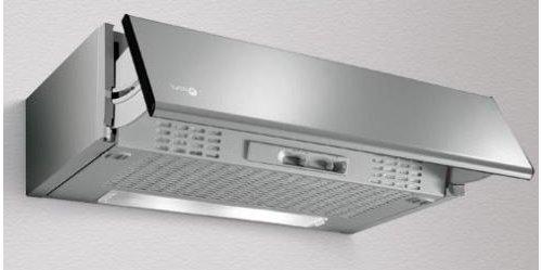 Cappa aspirante cucina sottopensile integrabile estraibile mod puglia da 90cm grigia turbo air - Cappa cucina 90 cm ...