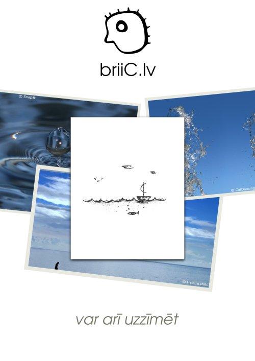 briiC.lv | var arī uzzīmēt | ūdens