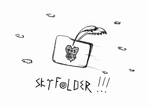 SkyFolder @positivus