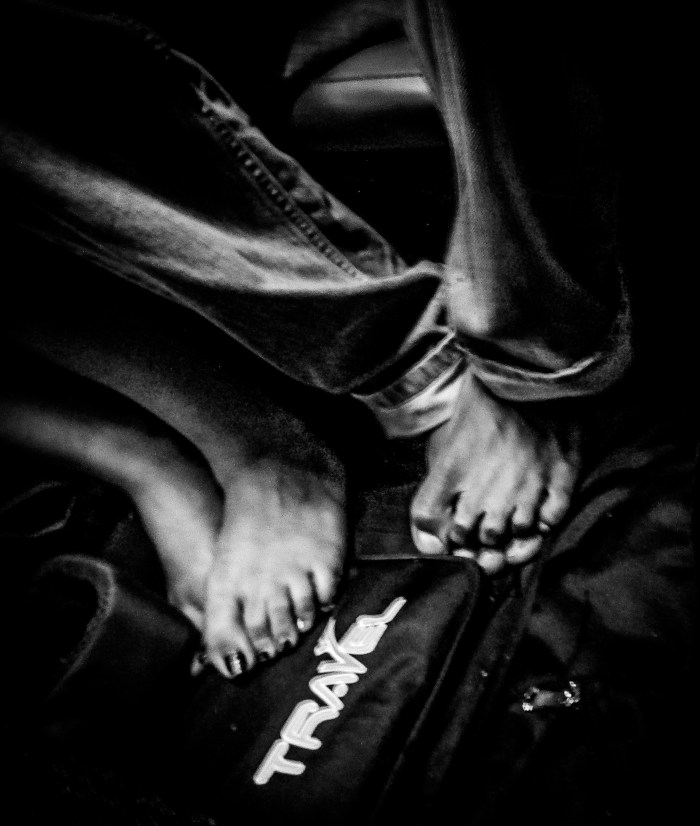 TRAVEL PHOTOGRAPHY SHOT OF TRAVELER'S FEET BY BRIJESH KAPOOR