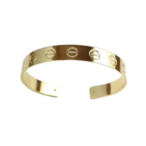 Bracelete Love Ajustável banho ouro 18k