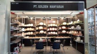 Golden Manyaran Booth at Ambiente 2016